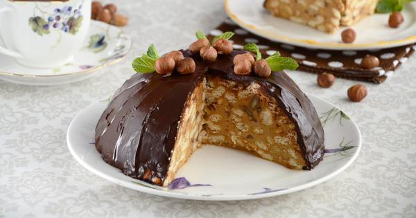 Торт из печенья рыбки – вкусные и быстрые рецепты приготовления